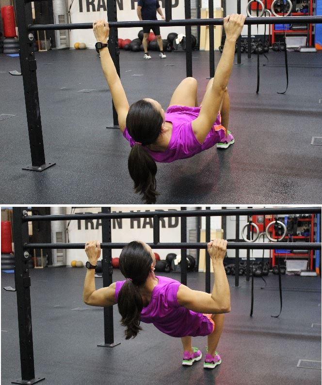 crossfit test isabel del barrio under armour flexiones dorsales en barra