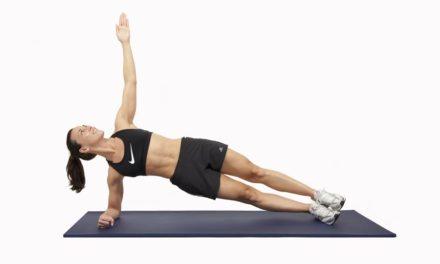 Workout # 6: Abdominales oblícuos sencillos