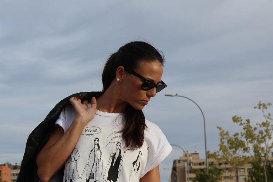 moda estilo carolina herrera isabel del barrio estilo working girl zara ray ban