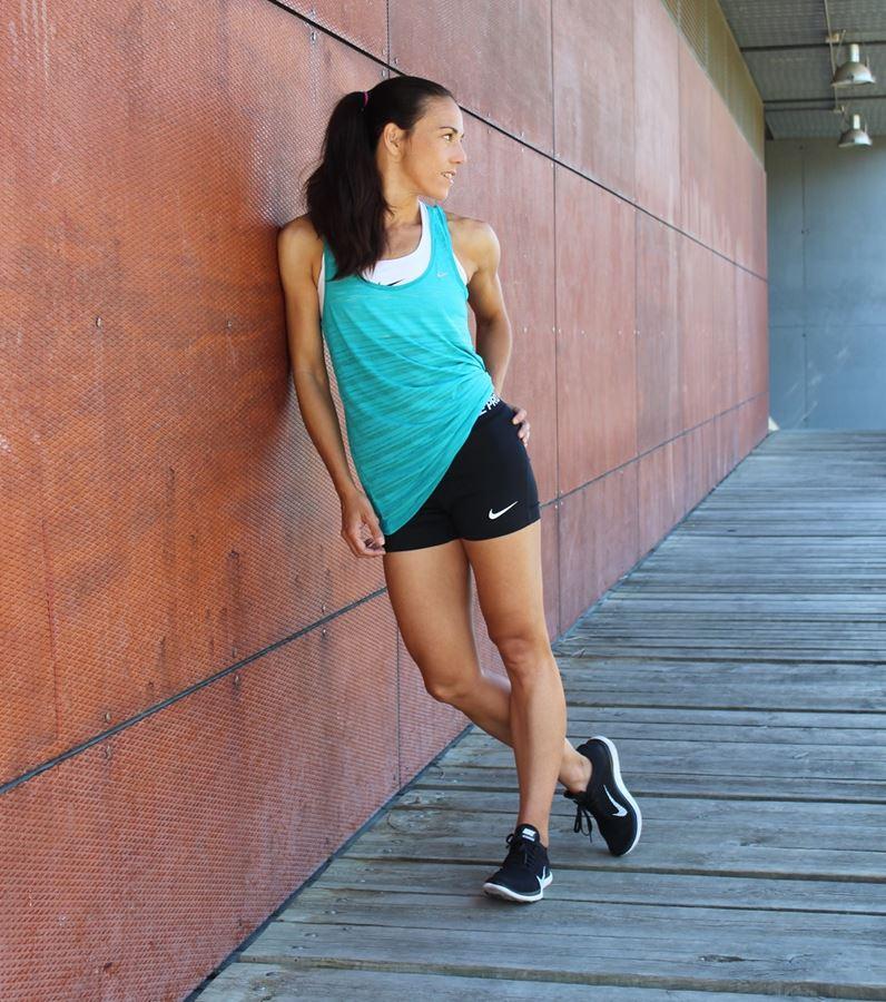 nike pro nike women training moda deportiva isabel del barrio
