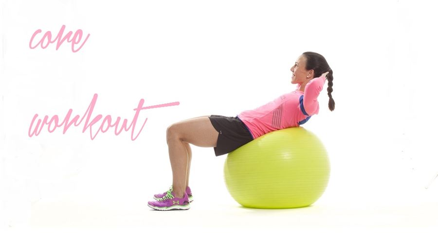 isabel del barrio core fitball runners abdominales