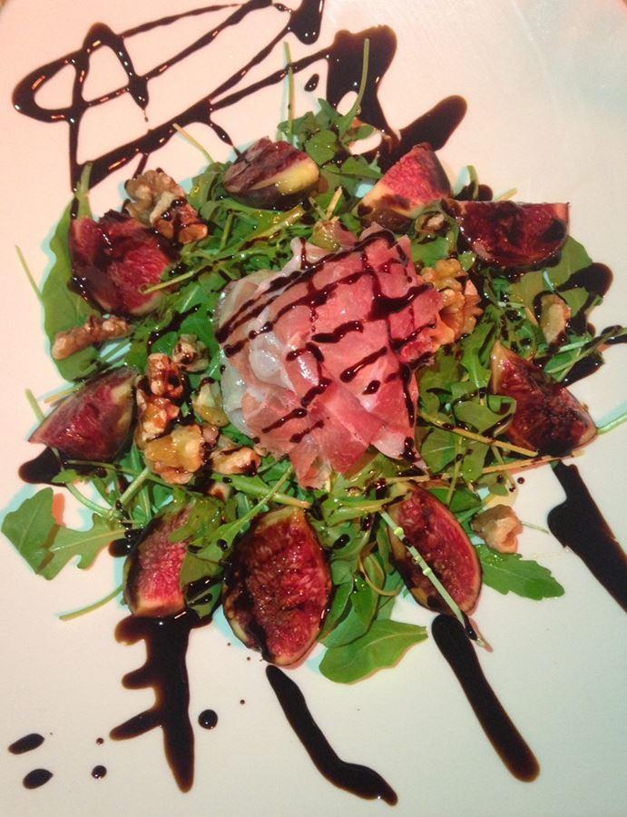 ensalada en restaurante