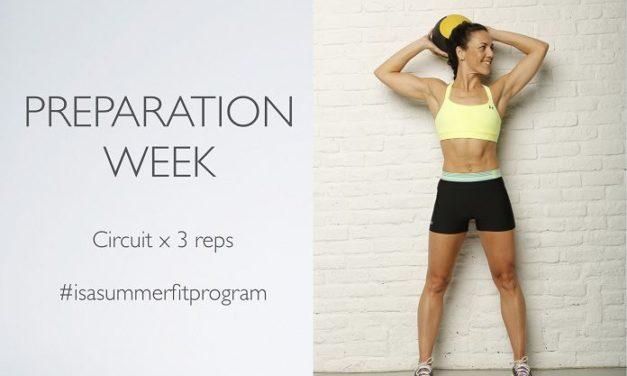 #omtsfitnessprogram  – intro week