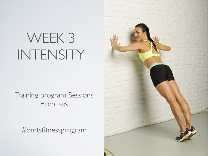 #omtsfitnessprogram WEEK 3 INTENSITY