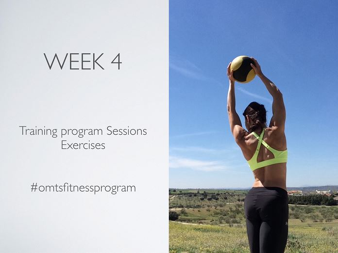 #omtsfitnessprogram WEEK 4 strong & pretty