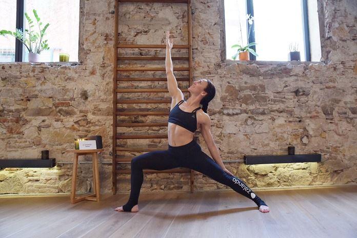Zalando Loves Yoga event