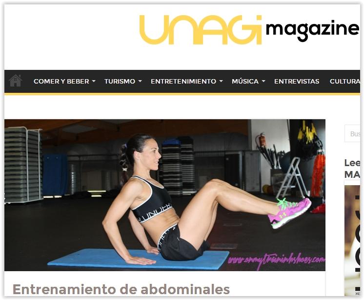 isabel del barrio prensa digital unagi magazine influencer fitness