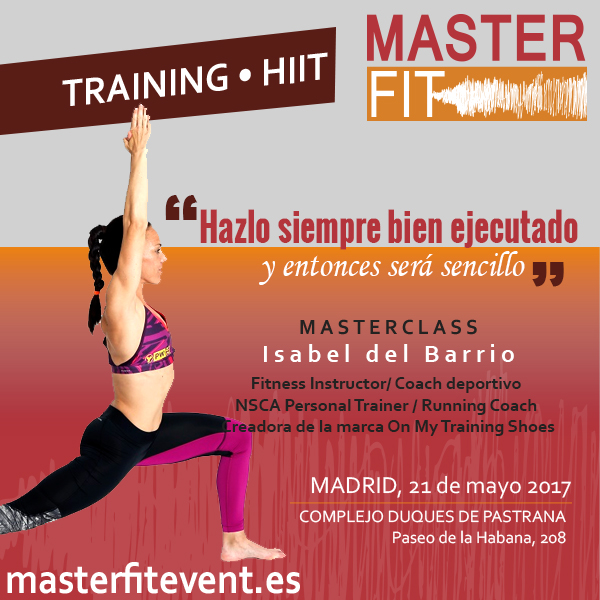 mayo editorial believe athletics isabel del barrio onmytrainingshoes masterfit