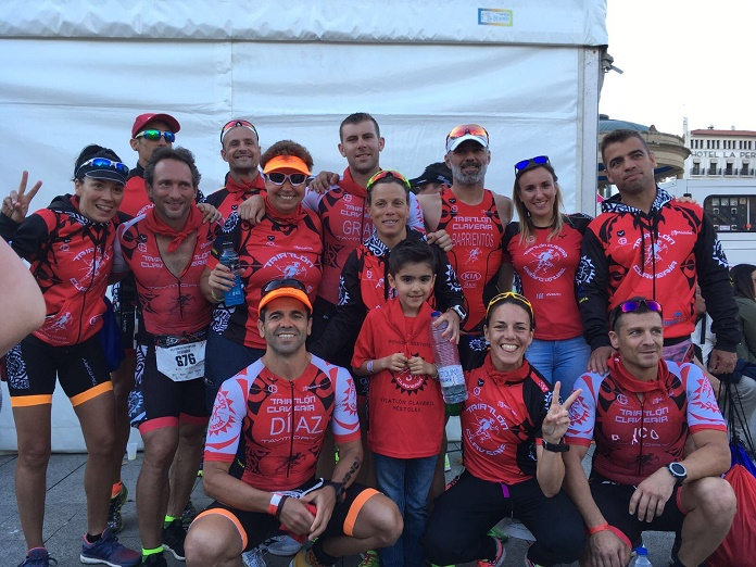 isabel del barrio triatlon claveria de mosoles campeonato de españa triatlon media distancia pamplona