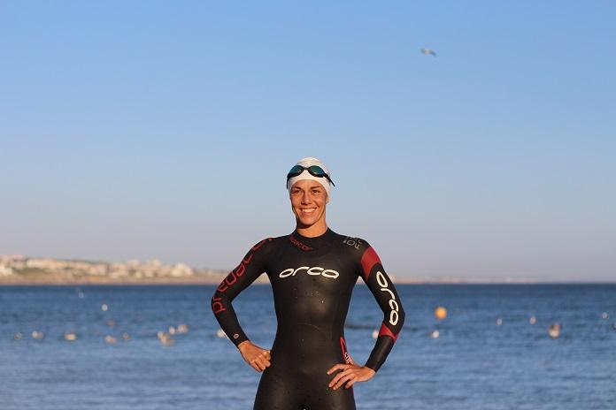 ironman 70.3 cascais orca triathlon swuisuit neopreno orca isabel del barrio