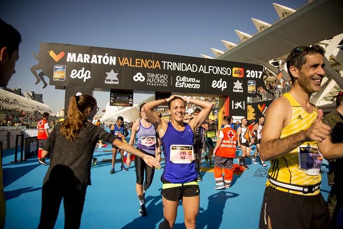 maraton de valencia mujeres que corren running competiciones isabel del barrio como prepare la maraton de valencia