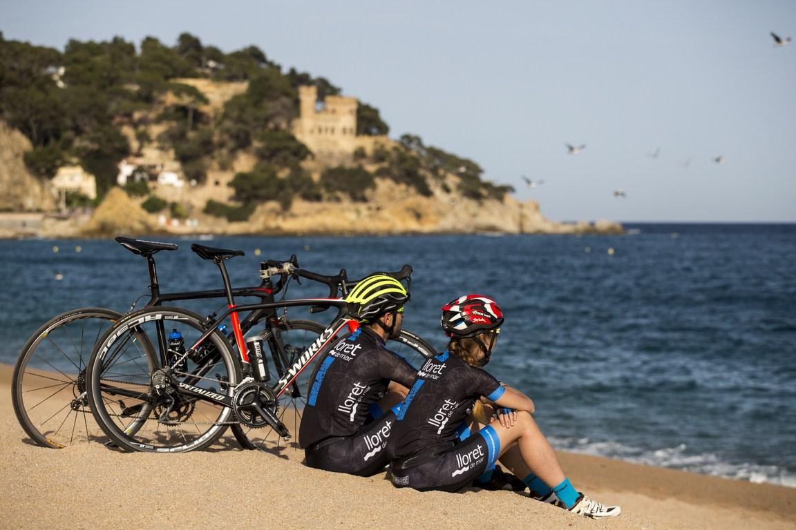 lloret cycling weekend cicloturismo ciclismo costa brava escapada activa hacer ciclismo