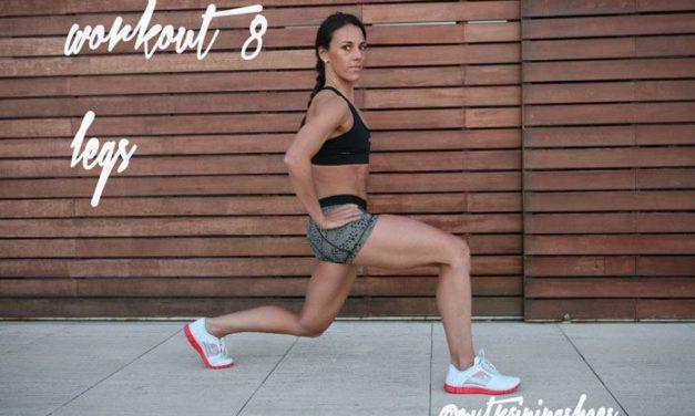 WORKOUT # 8 LEGS workout