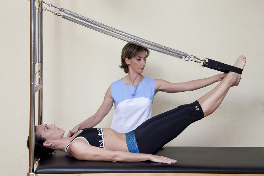 pilates maquinas madrid fisnor