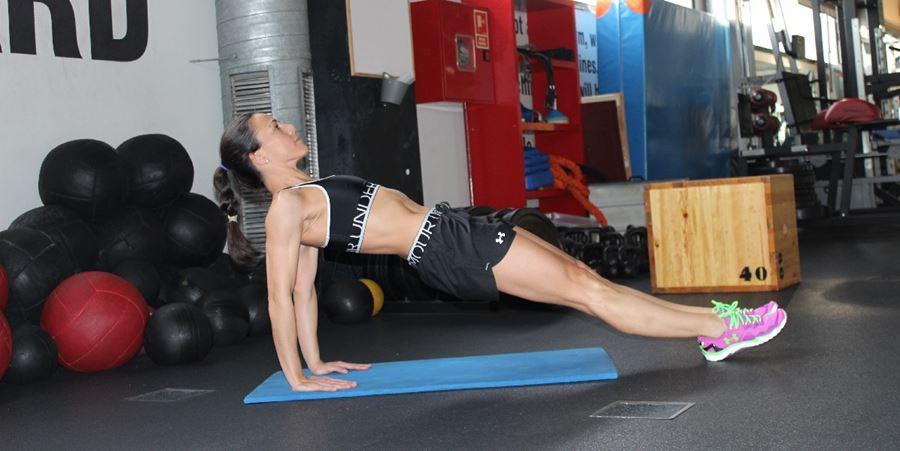 ejercicios abdominales tabla invertida