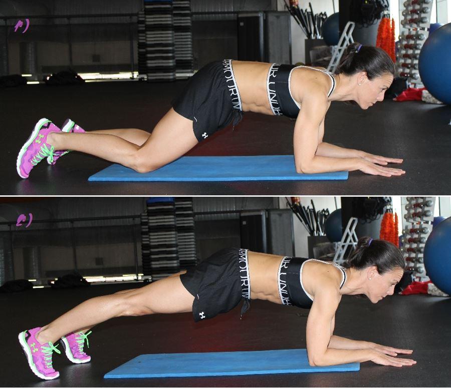 ejercicios abdominales tabla plancha opciones