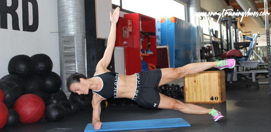 ejercicios abdominales plancha lateral nivel 2