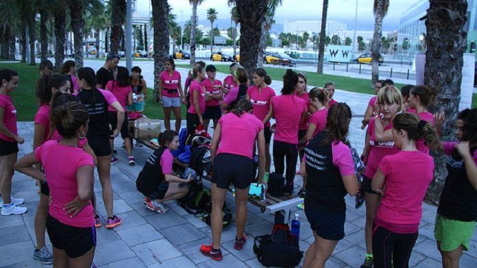 primer entrenamiento triwoman omts 2014