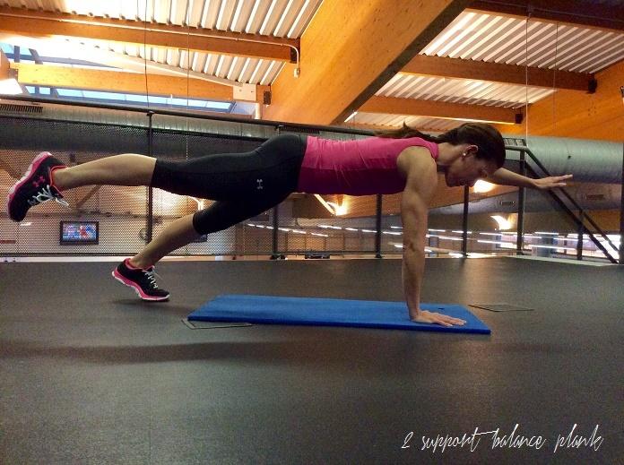 entrenamiento de core abdominales plancha isabel on my training shoes