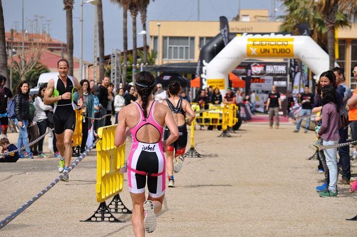running finish line
