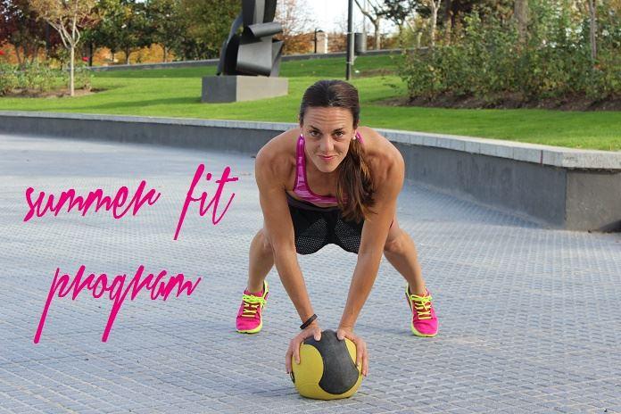 Summer fitness program – Intro