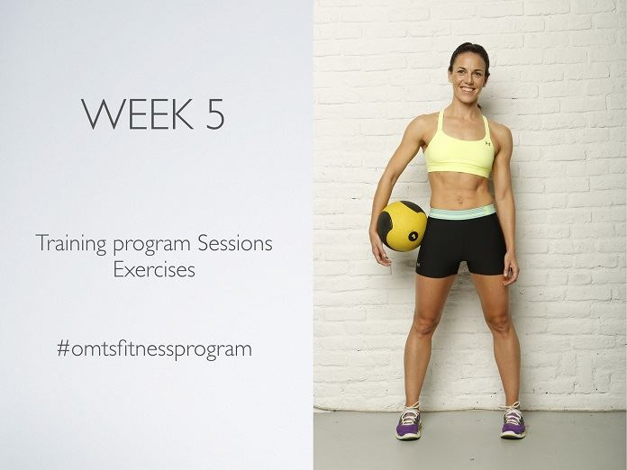 #OMTSFITNESSPROGRAM  WEEK 5 BETTER TOGETHER