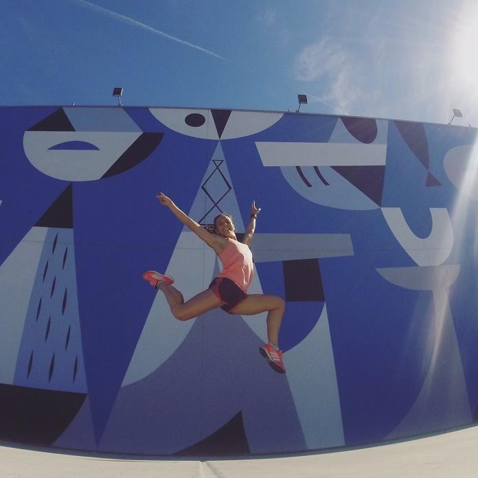 isabel del barrio viajar a san diego turismo viajes estados unidos instagramer fitness salto
