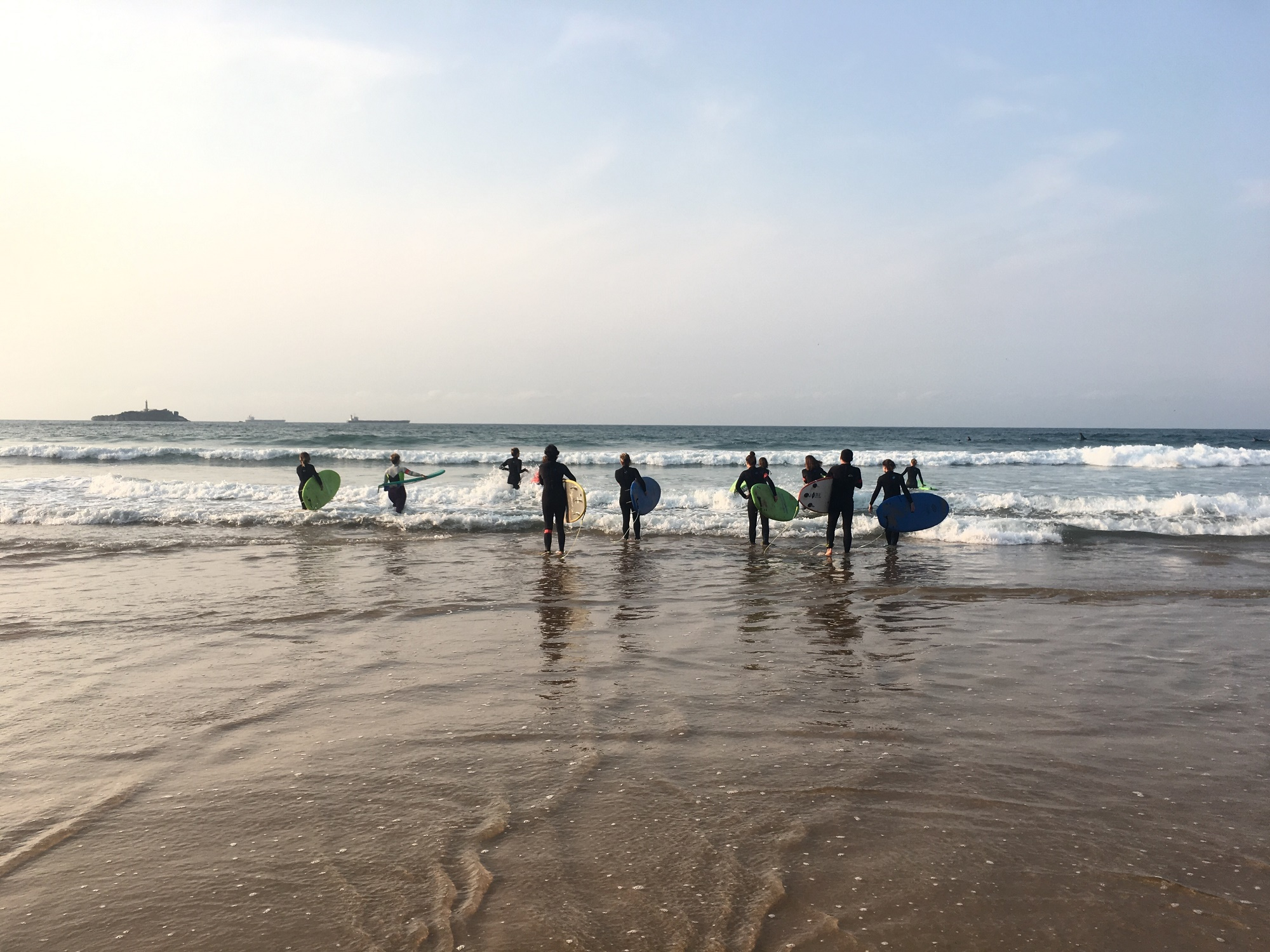 surf fitness training camp escuela cantabra de surf isabel del barrio onmytrainingshoes escapada activa evento entrenamiento training surfing somo