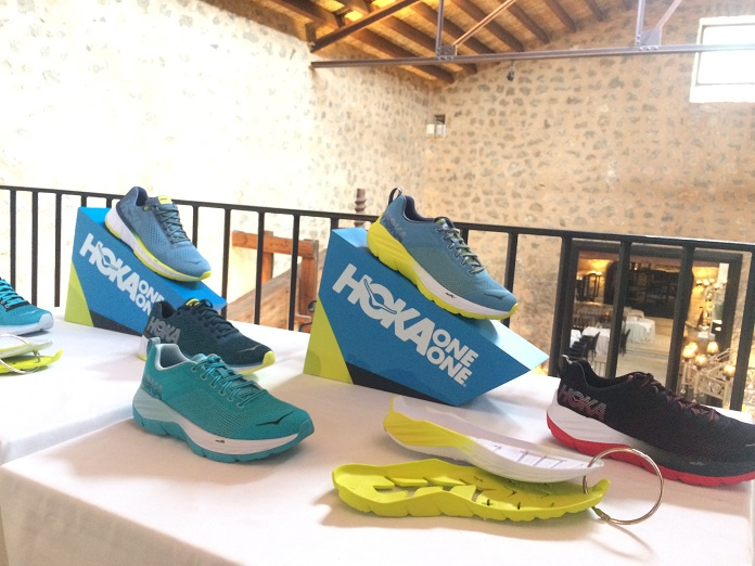 time to fly hoka one one zapatillas running amortiguacion running shoes onmytrainingshoes isabel del barrio mallorca novedades running