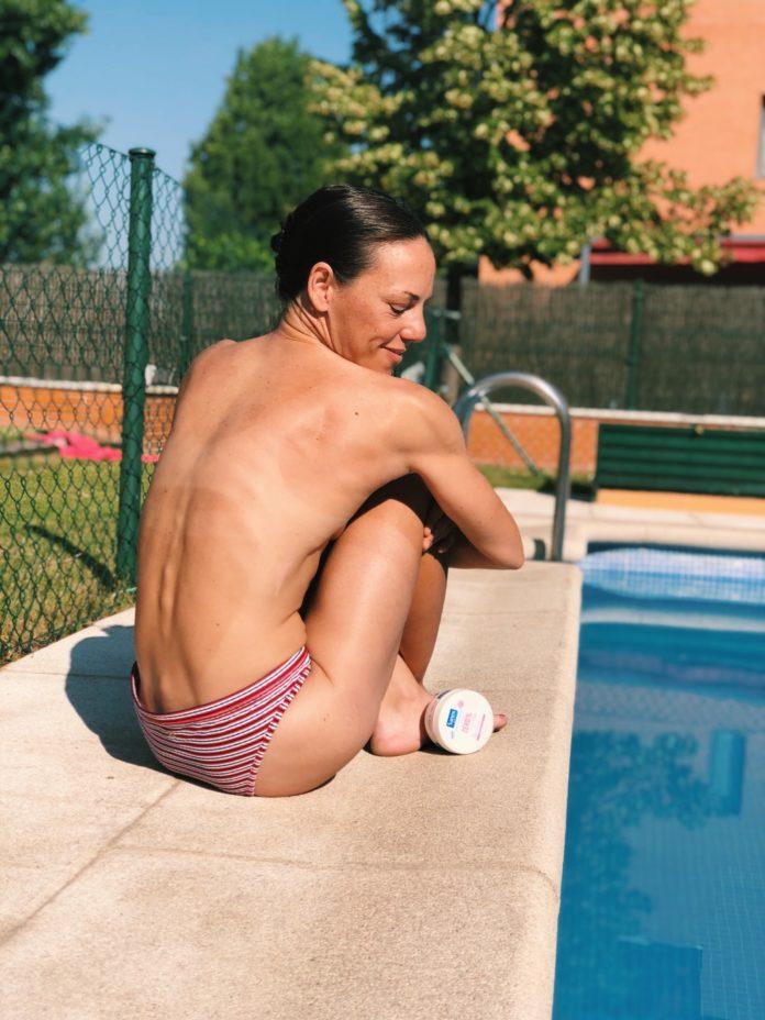 CUIDADO DE LA PIEL SANEX ZERO isabel del barrio onmytrainingshoes belleza bienestar wellness hidratación de la piel