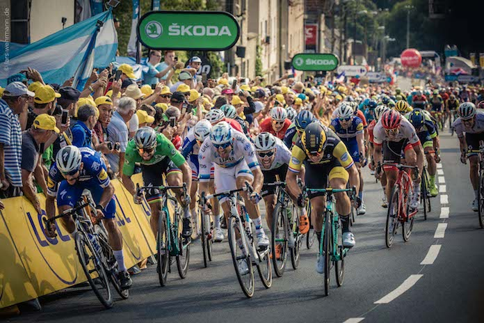 INSIDE LE TOUR DE FRANCE Tissot ciclismo tour de Francia onmytrainingshoes Isabel del barrio Maurizio fondriest viajes experiencia tour