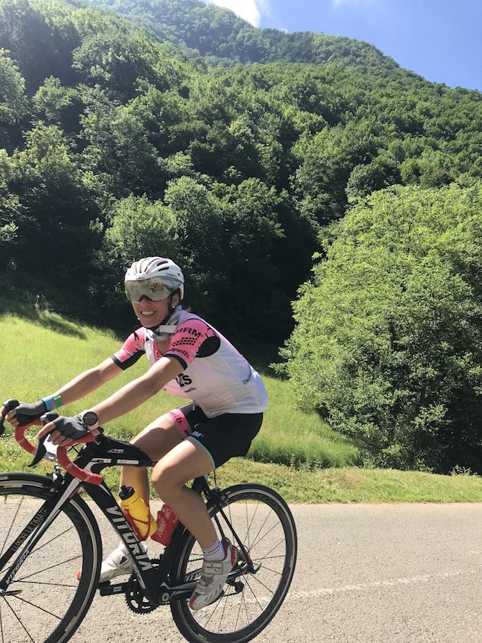la quebrantahuesos Isabel del barrio cicloturismo marcha cicloturista ciclismo onmytrainingshoes cycling routes MARIE BLANQUE