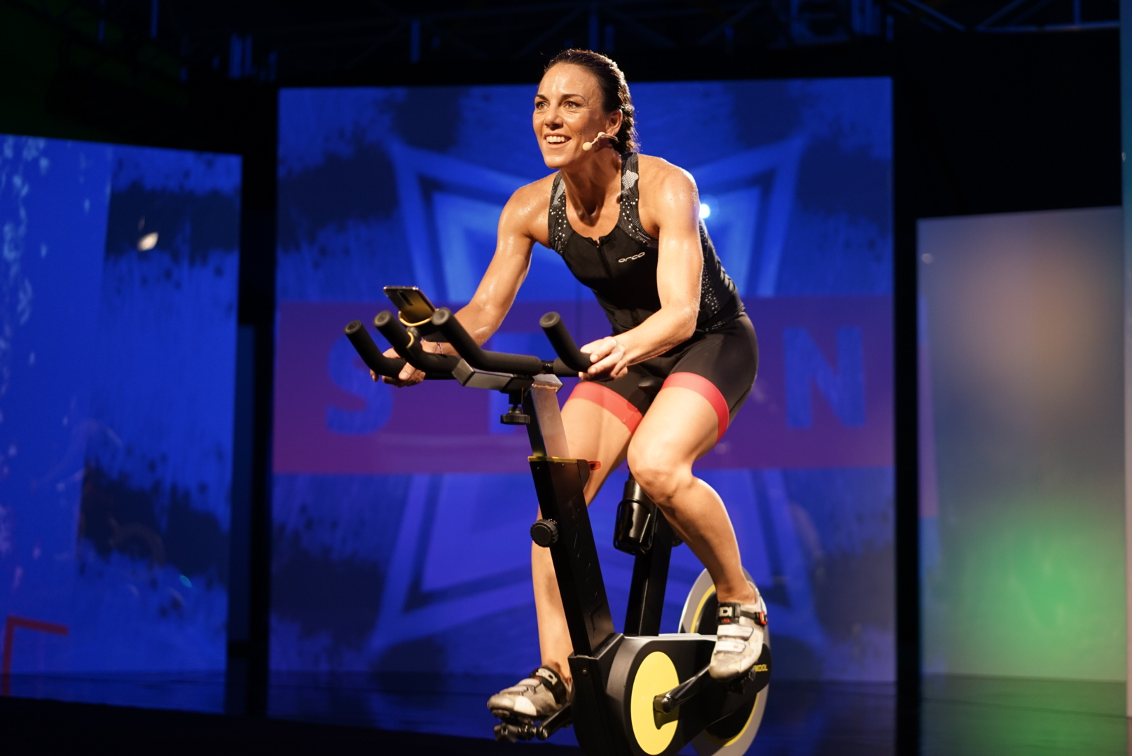 ISABEL DEL BARRIO ONMYTRAININGSHOES BKOOL FITNESS CICLISMO INDOOR