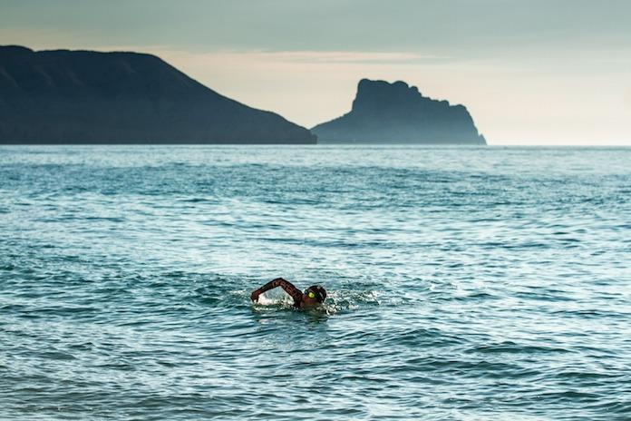 ironman 70. 3 marbella sim aguas abiertas orca triathlon